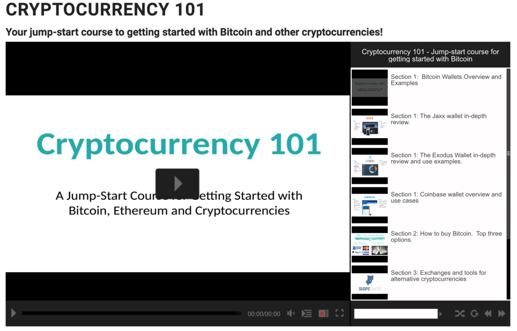 Crypto101 Course Preview